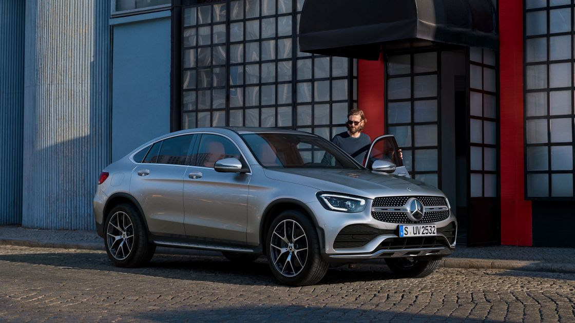 Mercedes Benz Glc Coupe Design