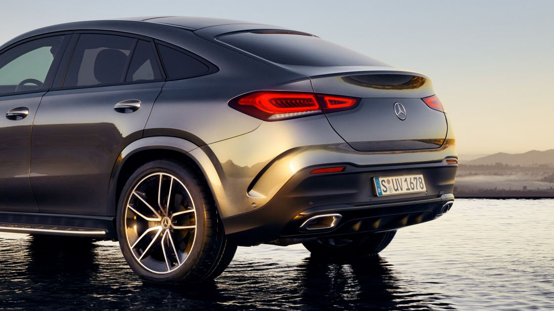 Mercedes Benz Gle Coupe Design
